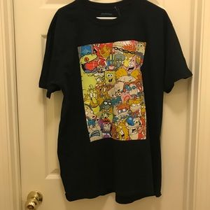 Nickelodeon black t-shirt NWT SZ XL